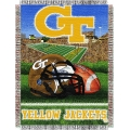 "Georgia Tech Yellow Jackets NCAA College ""Home Field Advantage"" 48""x 60"" Tapestry Throw"