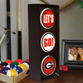 Georgia UGA Bulldogs NCAA College Stop Light Table Lamp