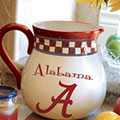 "Alabama Crimson Tide NCAA College 14"" Gameday Ceramic Chip and Dip Platter"