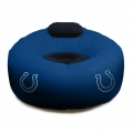 Indianapolis Colts NFL Vinyl Inflatable Chair w/ faux suede cushions