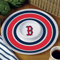 "Boston Red Sox MLB 14"" Round Melamine Chip and Dip Bowl"