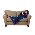 Minnesota Twins MLB Juvenile Fleece Comfy Throw