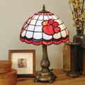 Clemson Tigers NCAA College Stained Glass Tiffany Table Lamp