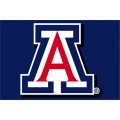 "Arizona Wildcats NCAA College 20"" x 30"" Acrylic Tufted Rug"