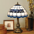 Dallas Cowboys NFL Stained Glass Tiffany Table Lamp