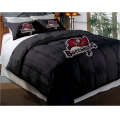 "Tampa Bay Buccaneers NFL Twin Chenille Embroidered Comforter Set with 2 Shams 64"" x 86"""