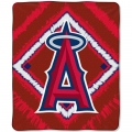 "Los Angeles Angels MLB ""Diamond"" 50"" x 60"" Micro Raschel Throw"