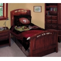 "San Francisco 49ers NFL Twin Comforter Set 63"" x 86"""