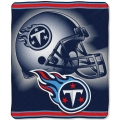 "Tennessee Titans NFL ""Tonal"" 50"" x 60"" Super Plush Throw"