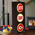 Kansas City Chiefs NFL Stop Light Table Lamp