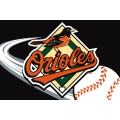 "Baltimore Orioles MLB 20"" x 30"" Acrylic Tufted Rug"