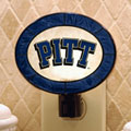 Pittsburgh Panthers NCAA College Art Glass Nightlight
