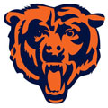 Chicago Bears Logo Fathead NFL Wall Graphic