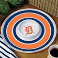 "Detroit Tigers MLB 14"" Round Melamine Chip and Dip Bowl"