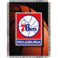 "Philadelphia 76ers NBA ""Photo Real"" 48"" x 60"" Tapestry Throw"