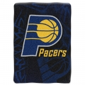 "Indiana Pacers NBA ""Tie Dye"" 60"" x 80"" Super Plush Throw"