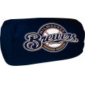 "Milwaukee Brewers MLB 14"" x 8"" Beaded Spandex Bolster Pillow"