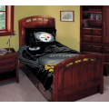 "Pittsburgh Steelers NFL Twin Comforter Set 63"" x 86"""