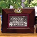 "Colorado Avalanche NHL 8"" x 10"" Brown Horizontal Picture Frame"