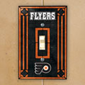 Pittsburgh Penguins NHL Art Glass Single Light Switch Plate Cover