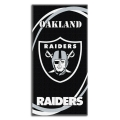 "Oakland Raiders NFL 30"" x 60"" Terry Beach Towel"