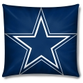 "Dallas Cowboys NFL 16"" Embroidered Plush Pillow with Applique"