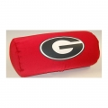 "Georgia Bulldogs NCAA College 14"" x 8"" Beaded Spandex Bolster Pillow"