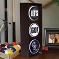 Colorado Rockies MLB Stop Light Table Lamp