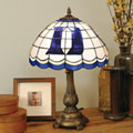 Duke Blue Devils NCAA College Stained Glass Tiffany Table Lamp