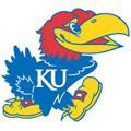 Kansas Jayhawks Resized Logo Fathead NCAA Wall Graphic