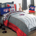 Washington Nationals MLB Authentic Team Jersey Bedding Twin Size Comforter / Sheet Set