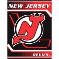 "New Jersey Devils NHL ""Tie Dye"" 60"" x 80"" Super Plush Throw"