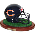 Chicago Bears NFL Football Helmet Figurine