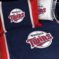 Minnesota Twins MLB Microsuede Comforter / Sheet Set