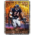 "Brian Urlacher NFL ""Players"" 48"" x 60"" Tapestry Throw"