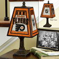 Philadelphia Flyers NHL Art Glass Table Lamp