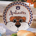 "Auburn Tigers NCAA College 11"" Gameday Ceramic Plate"
