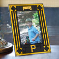 "Pittsburgh Pirates MLB 9"" x 6.5"" Vertical Art-Glass Frame"