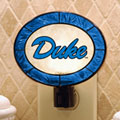 Duke Blue Devils NCAA College Art Glass Nightlight