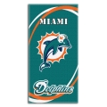 "Miami Dolphins NFL 30"" x 60"" Terry Beach Towel"