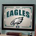 Philadelphia Eagles NFL Framed Glass Mirror