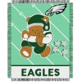 "Philadelphia Eagles NFL Baby 36"" x 46"" Triple Woven Jacquard Throw"