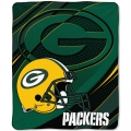 "Green Bay Packers NFL Micro Raschel Blanket 50"" x 60"""
