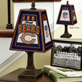 Chicago Bears NFL Art Glass Table Lamp