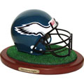 Philadelphia Eagles NFL Football Helmet Figurine
