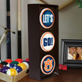 Auburn Tigers NCAA College Stop Light Table Lamp