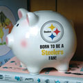 Pittsburgh Steelers NFL Ceramic Piggy Bank