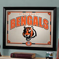 Cincinnati Bengals NFL Framed Glass Mirror