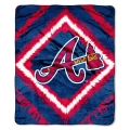 "Atlanta Braves MLB ""Diamond"" 50"" x 60"" Micro Raschel Throw"