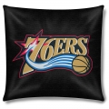 "Philadelphia 76ers NBA 18"" x 18"" Cotton Duck Toss Pillow"